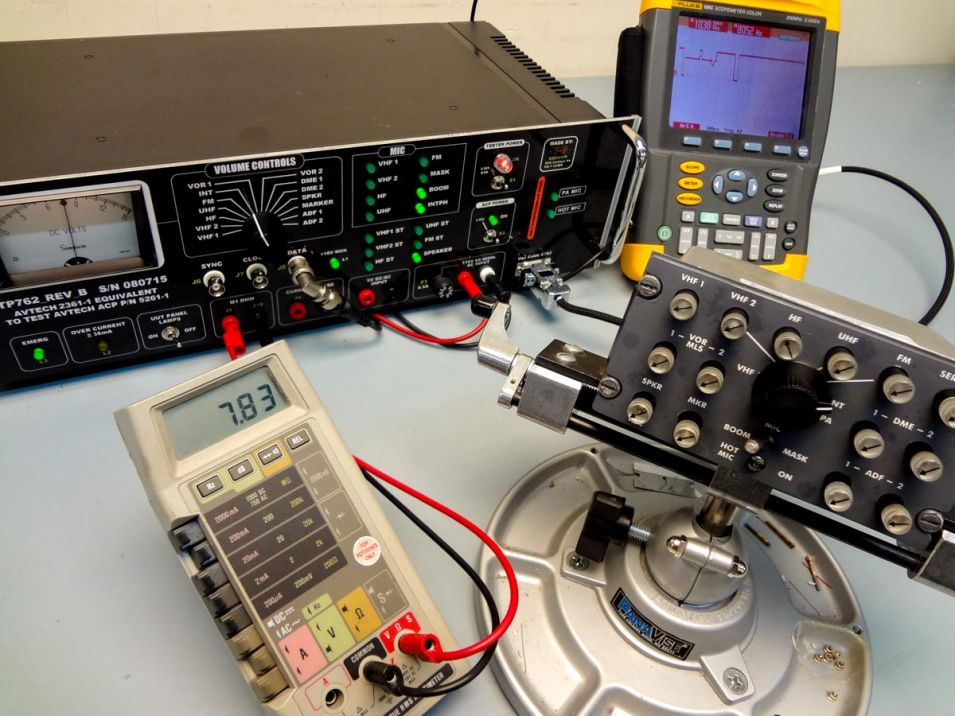 Tester Equivalent To Oem P N 2361 1 To Test Audio